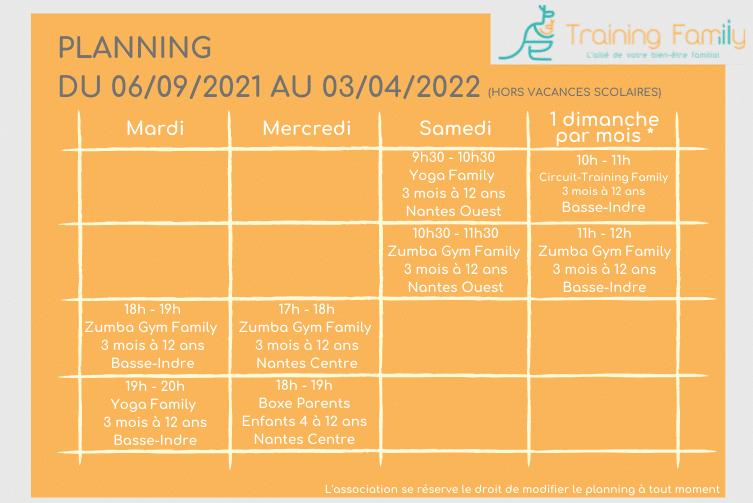 planning-training-family-nantes-basse-indre-dervallières-ile-éléphantsport-famille-parents-enfants-bébés-bayby-gym-boxe-zumba-yoga-circuit-