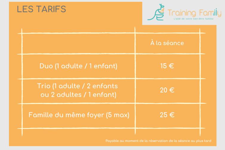 tarifs-training-family-nantes-agglomération-sport-en-famille-boxe-circuit-zumba-yoga-bien-etre-familial-activites-agenda